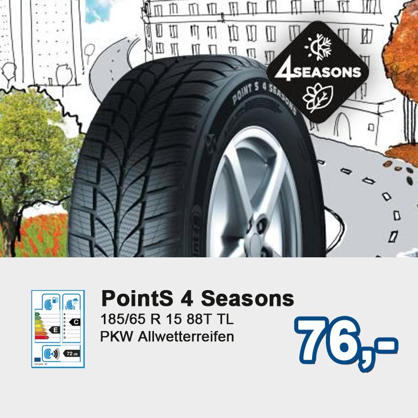 point S 4 Seasons, PKW Allwetterreifen bei Reifen Richter