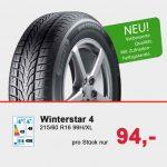 Winterstar 4 bei Reifen Richter in Wernigerode, Osterode und Bad Harzburg