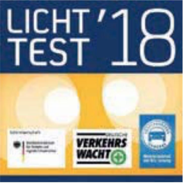 Reifen Richter - kostenloser Lichttest im Oktober 2018