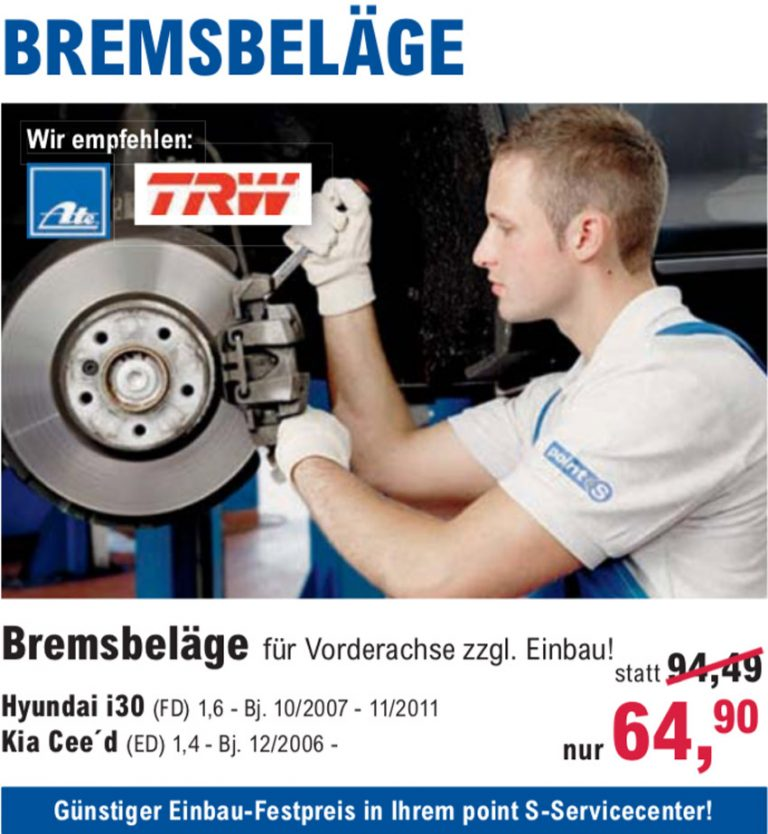 Bremservice in der Meisterwerkstatt, bei Reifen Richter in Wernigerode, Bad Harzburg und Osterwieck