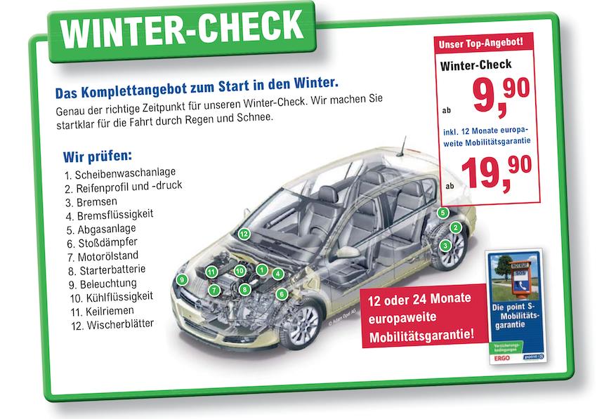 Reifen Richter Winter-Check in Wernigerode, Bad Harzburg und Osterode