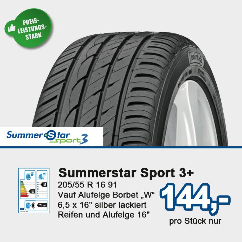 Der Summerstar 3+ überzeugt durch hohe Sicherheit und mehr Fahrkomfort.