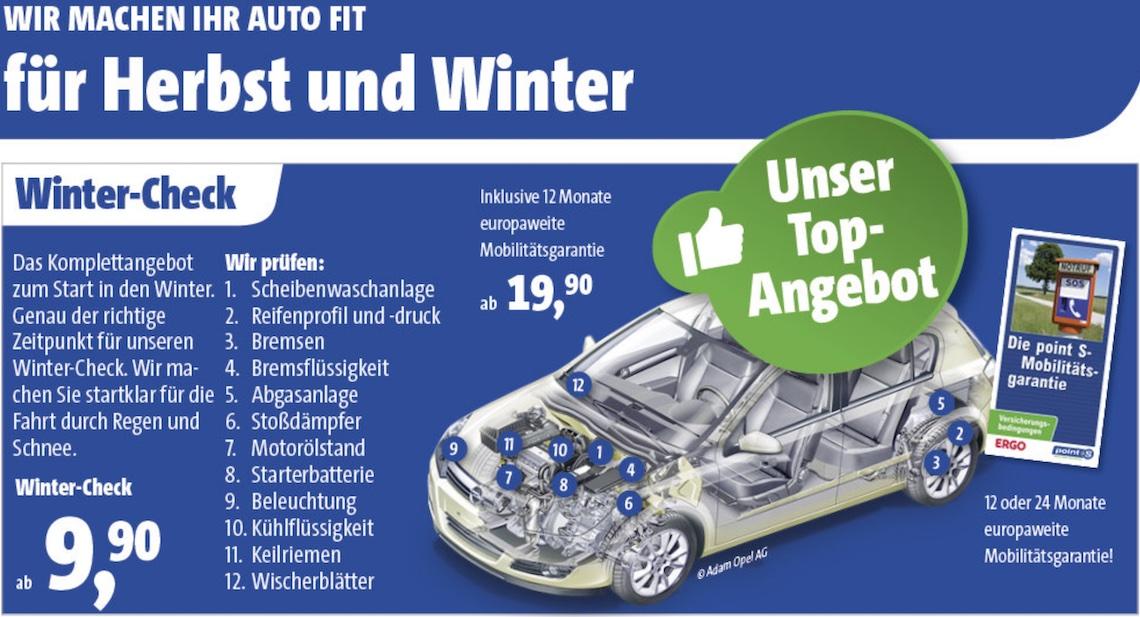 Winter-Check bei Reifen-Richter